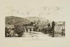 Bassano: veduta della città e del Ponte Vecchio