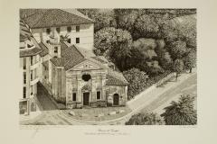 Bassano: veduta della chiesa della Beata Vergine del Caravaggio