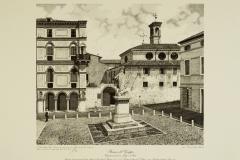 Bassano: veduta parziale di via Jacopo da Ponte