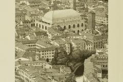 Centro storico di Vicenza visto da Monte Berico