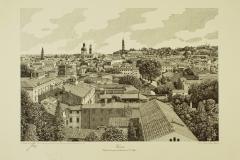 Veduta della città di Vicenza dal campanile di San Marco